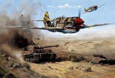 BLITZKRIEG!!: 15 Ilustraciones de Combates y Operaciones Aéreas durante la 2ª Guerra Mundial