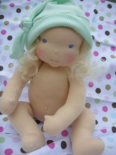 I want to make a doll like this for my granddaughters!  Go Lali Dolls...darling :)