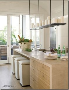 interiors by Liz Hand Woods, architecture by Bates Corkern Studio, from Veranda