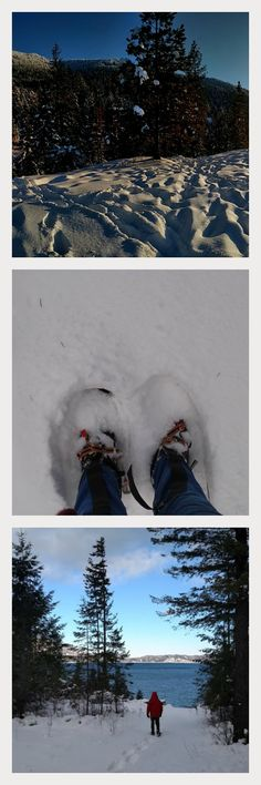 Snowshoeing on Pend Oreille, ID. Learn why this slice of Heaven is suddenly experiencing earthquakes.