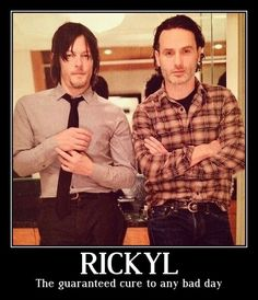 Norman and Andy