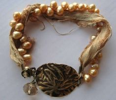Designs by Lynnea - Lemon Delight Bracelet