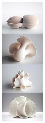 Organic Forms. Oliver Kruse (b 1965, Nuremberg) began his art career as a cabinetmaker. In 1994 he founded his studio at the Rocket Station Hombroich. From 1996 he became a member of the board of Insel Hombroich Foundation. In 2004-05 he was the artistic director Hooy Kaye Institute in Brussels.