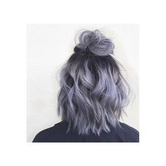 Image in Hair ✨ collection by Gabs on We Heart It ❤ liked on Polyvore featuring accessories, hair accessories, short hair accessories and purple hair accessories