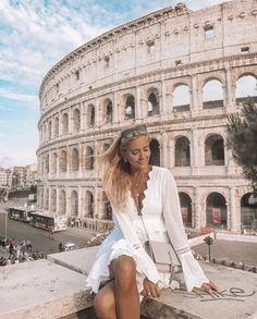 25 Ideas Travel Europe Destinations Cities Rome Italy For 2019 Rome Outfits, Italy Outfits, Rome Travel, Italy Travel, Visit Rome, Travel Outfit Summer, Europe Travel Outfits, Travel Europe, Backpacking Europe