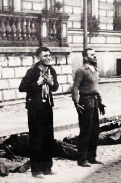 Shameful history! The execution of Polish men on Bloody Sunday. Bydgoszcz, 1939. Unattributed