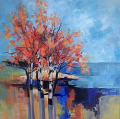 Tips On Finding The Best Landscape Supply Deals Abstract Landscape Painting, Watercolor Landscape, Abstract Wall Art, Landscape Art, Landscape Paintings, Jewish Art, Impressionism Art, Contemporary Landscape, Cool Landscapes