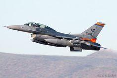 General Dynamics F-16D Fighting Falcon - 89-2163 - USAF