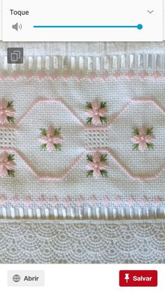 Carminealves Santos's media content and analytics Bargello, Cross Stitch Patterns, Lily, Embroidery, Sewing, Crochet, Flowers, How To Make, Blue Towels