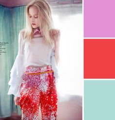 winter holiday palette // coco kelley
