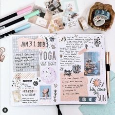 Creative Bullet Journal Washi Tape Ideas You'll Want To Steal Album Journal, Planner Bullet Journal, Bullet Journal Writing, Bullet Journal School, Bullet Journal Themes, Bullet Journal Inspo, Bullet Journal Spread, Scrapbook Journal, Bullet Journal With Stickers