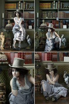 I would like to grow up and be Helena Boham Carter please