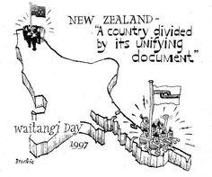 Waitangi Cartoon