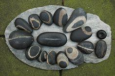 black stones by Jos van Wunnik, via Flickr