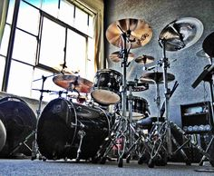 DW Drums & Paiste Cymbals