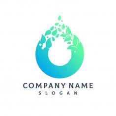 Water Drop Logo, Water Logo, 1 Logo, Logo Branding, Cosmos Logo, Laundry Company, Laundry Logo, Lotus Logo, Catchphrase