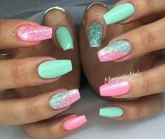 Spring nail art at its best!