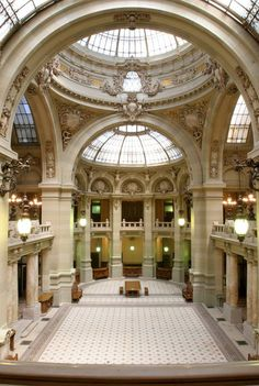 **French architects in Bucharest** Arch. Paul Gottereau - The CEC Palace (1897-1900, Eclectic style), Bucharest, Romania, www.romaniasfriends.com