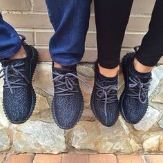 His and Her's Yeezy Boosts