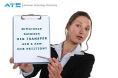 What is the difference between a H1B transfer and a new H1B petition?