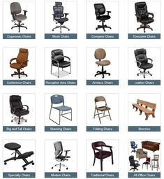 12 Types Of Chairs For Your Diffe Rooms