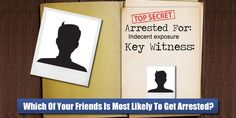 Which Friend Of Yours Is Most Likely To Get Arrested?