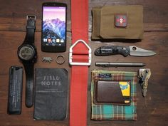 Everyday carry gear is simply that, it's gear you carry with you everyday to get you through the day, together with some additional items in case the SHTF