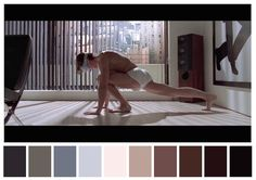Cinema Palettes: Color palettes from famous movies - American Psycho