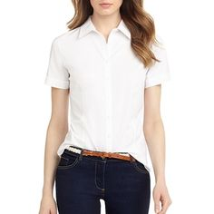"""Spotted while shopping on Poshmark: """"White Button Up Shirt""""! #poshmark #fashion #shopping #style #Brooks Brothers #Tops"""