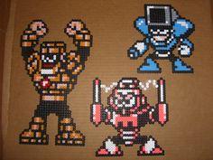 Megaman bead bosses 07 by zaghrenaut.deviantart.com on @DeviantArt