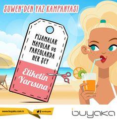 Buyaka Suwen'den yaza özel indirim kampanyası! #BuyakaBiBaşka #Suwen #Kampanya #BuyakaAvm