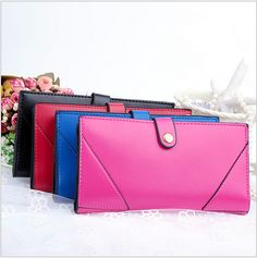 Elegant Women Fashion Purse Famous Branded Girl's Wallet Zipper Design European Fashion Small Clutch Bags Mini Bags H215 Welcome to store:Top8888 Feature: 1.Colour: black,red,rose red and blue 2.Wallet size:20*12cm 3.Package:1 piece in 1 opp bag 4.Dropshipping worldwide NOTE:1.Chinese Lunar New year order, promised protection time extent to be 60 days, Russian order as protection time ...