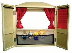 finger puppet theatre diy - Google Search
