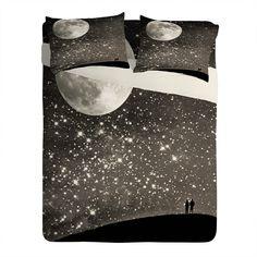 Shannon Clark Love Under The Stars Sheet Set Lightweight | DENY Designs Home Accessories