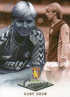 Gary Shaw of Aston Villa in Aston Villa Fc, Football Cards, World History, Trading Cards, 70s Toys, Stickers, 1980s, Legends, Sticker