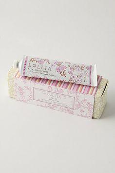 Lollia Hand Cream #anthropologie