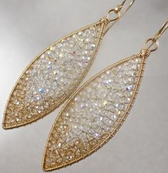Crystal Sparklers by twotightlywound on Etsy, $250.00
