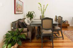 Set de sillas restauradas para comedor de madera, restaurada by BERKANA Shop