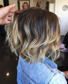 Brown To Blonde Ombre, Light Hair, Hair Today, Balayage Hair, Messy Hairstyles, Hair Dos, Short Hair Cuts, Dyed Hair, Hair Inspiration