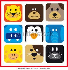 Animal icons by sgg, via ShutterStock
