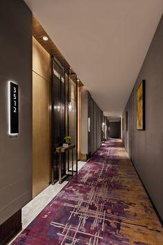Stairs Landing Design, Corridor Design, Entrance Design, Stair Landing, Hotel Corridor, Corridor Lighting, City Layout, Palace, Dragon City