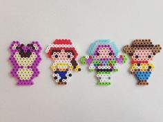 Toy Story characters prler beads by e_rika753