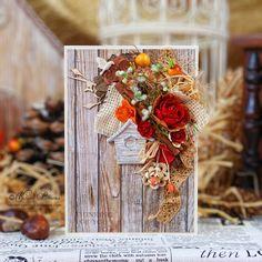 Autumn eco card