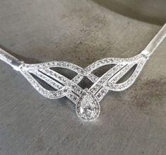 Custom made pear shape diamond pendant Pear Shaped Diamond, Diamond Pendant, Wire Wrapping, Custom Made, Jewelry Making, Wedding Rings, Engagement Rings, Jewels, Bracelets