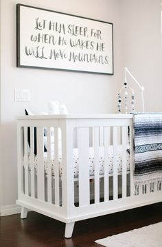 Rather Than Traditional Nursery Colors Branch Out With Something Trenr Like A Monochromatic Palette