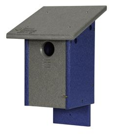 Wall or Post Mount. Green Meadow Polywood Bird Feeders and Houses are USA made with eco-friendly post-consumer recycled plastic. Dimensions: IN W x IN D x 13 IN H Aluminum Screen, Nesting Boxes, Recycle Plastic Bottles, Weathered Wood, Mold And Mildew, Amish, Purple And Black, Blue Bird, Bird Feeders