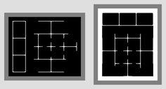 "moji:  "" 睡、覚 Ambigram Laboratory Annex  """