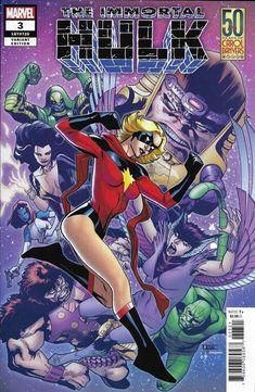 2018 NM Marvel Comics 1st Print The Avengers #4 50 Years of Carol Danvers