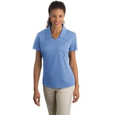Shop at Deluxe for the Nike Golf Ladies Dri-Fit Micro Pique Sport Shirt - Dark/All that can be customized with your logo or personalized message. Order Nike Golf Ladies Dri-Fit Micro Pique Sport Shirt - Dark/All in bulk at wholesale prices today. Nike Golf, Land's End, Golf Shirts, Sports Shirts, Tees, Corporate Outfits, Corporate Gifts, Ladies Golf, Workout Shorts