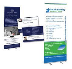 Leaflet and roller banners design and orint